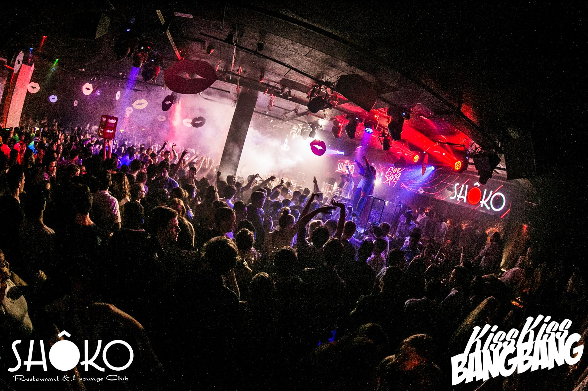 Shoko Barcelona Vip Table Bottles From 300 Reserve