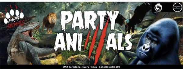 <strong>PARTY ANIMALS</strong> <br>Every Friday at 00:30